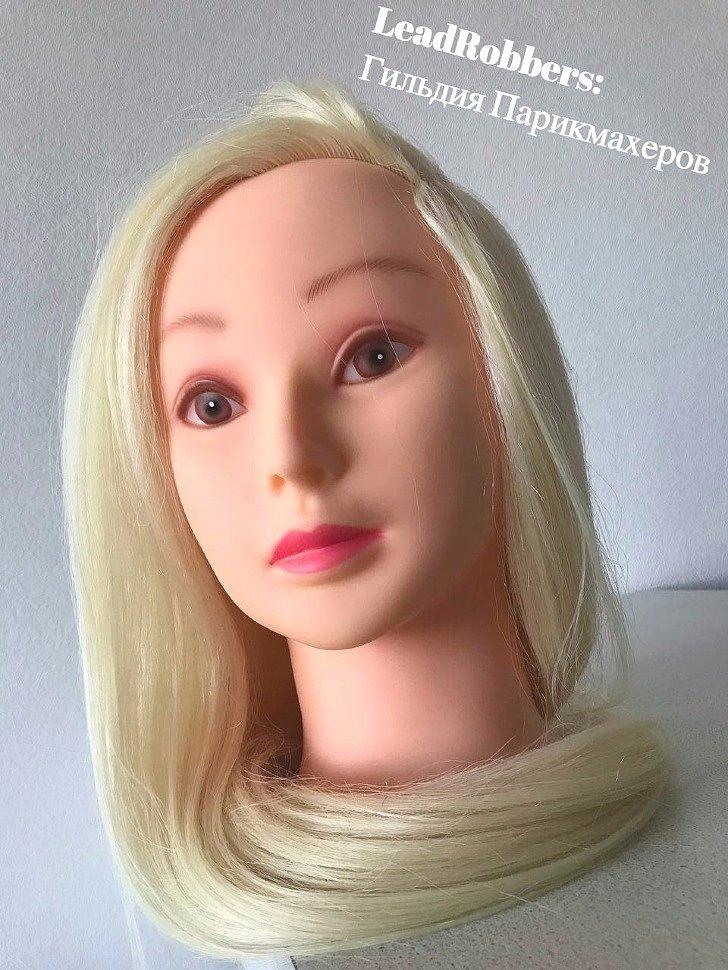 выбор парикмахерского манекена для стрижек плетения