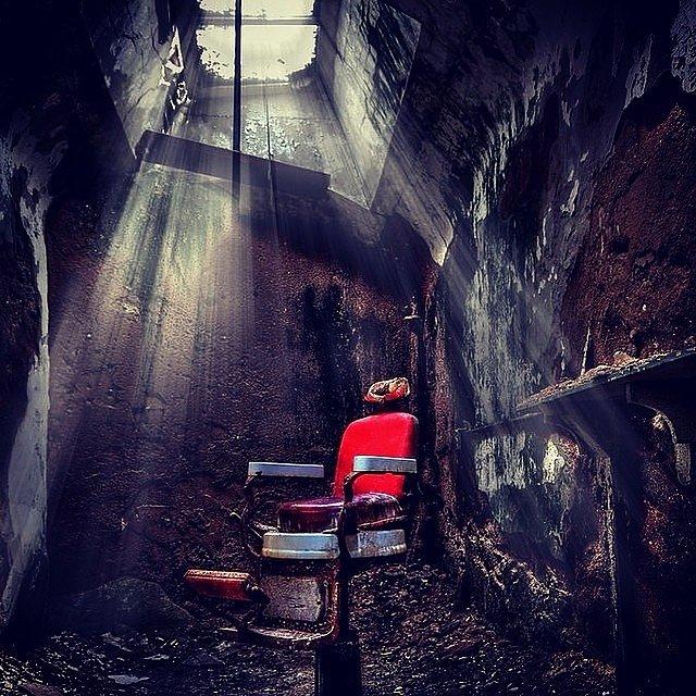 парикмахерское барберское кресло